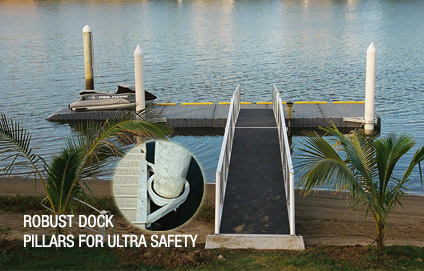 Best Boat Covers >> Pontoons, Jet ski docks, Boat lifts, world class docking systems, Superior Jetties India